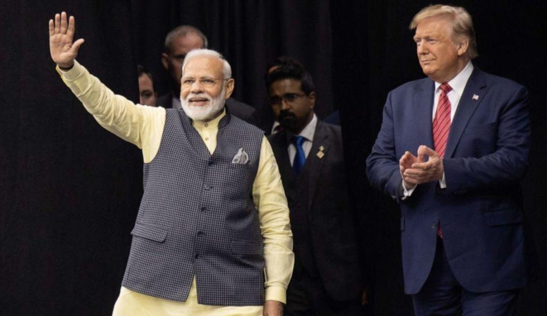特朗普首次对印度进行国事访问,印度总理莫迪都准备了啥?