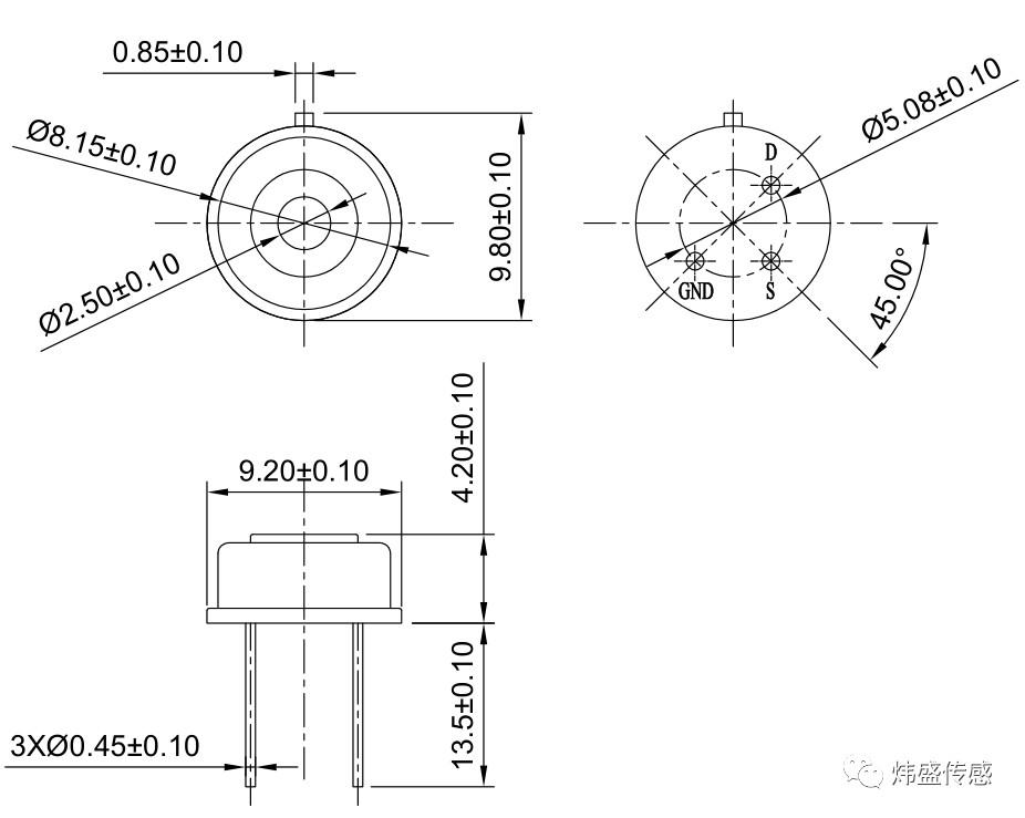 非接触式测温方法_技术讲解:一种非接触式热释电红外测温传感器_测量