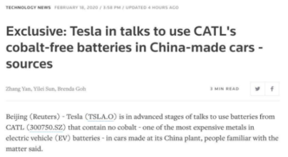 特斯拉一句话!A股钴、锂都不行了,超级电容指数大涨!