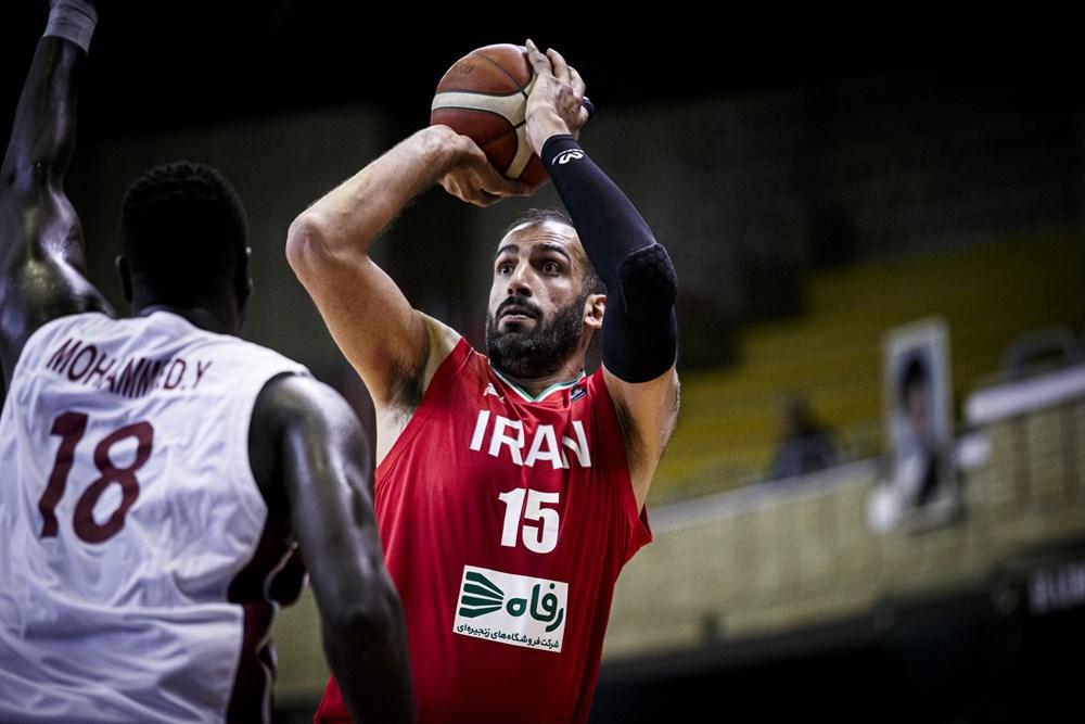 亚预赛-哈达迪13+8领4人上双 伊朗男篮大胜卡塔尔