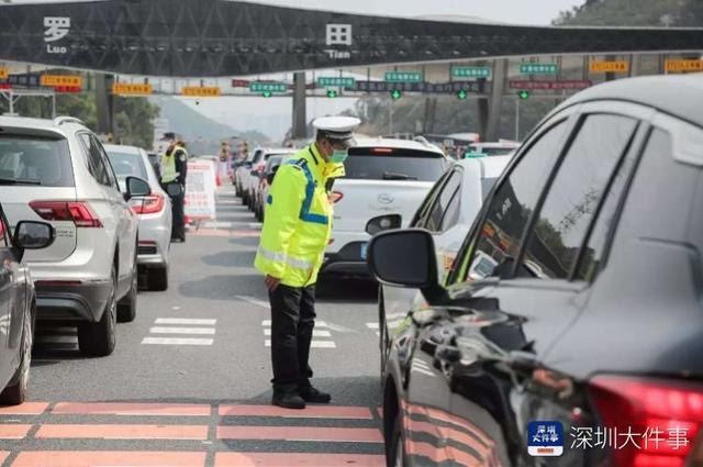 申领绿码范围扩大,明日起非粤B车牌在深圳也有机会免检通行