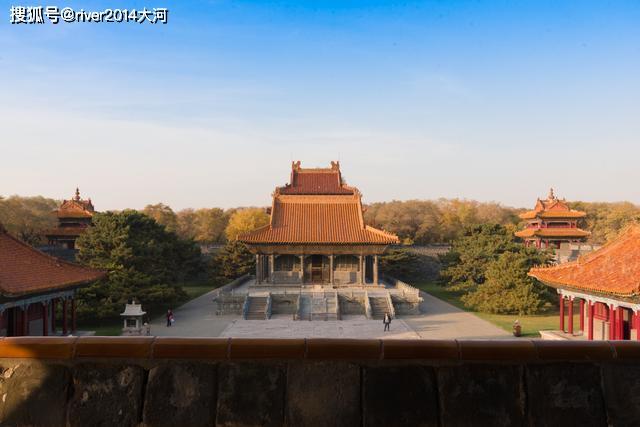 沈阳的世界文化遗产,位于公园内,还是清朝帝王的陵墓