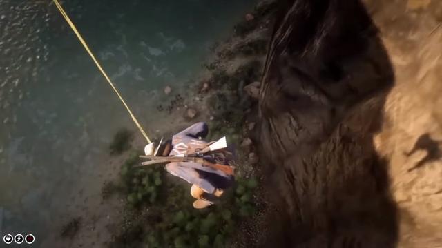 《荒野大鏢客2》嘔吐竟可免墜傷神奇操作讓人驚嘆
