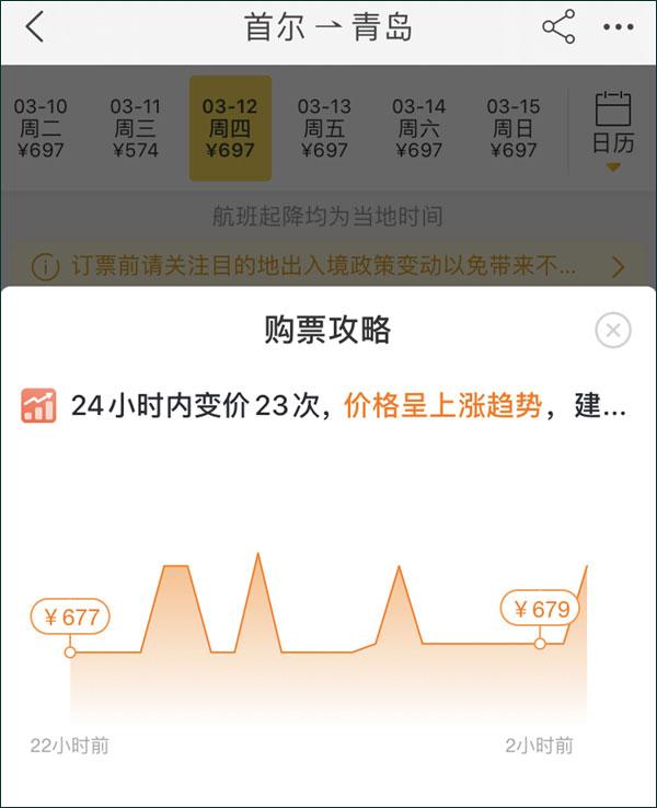 韩国人到青岛躲避疫情使机票价格暴涨?真相是…