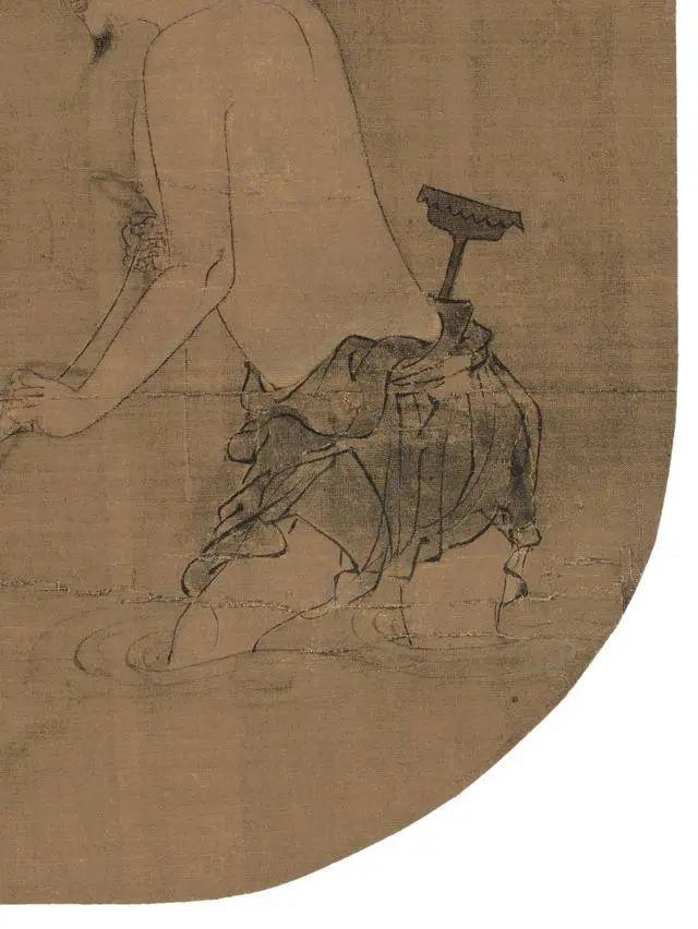 清溪饮马图和十六神骏图卷纸本高清作品赏析