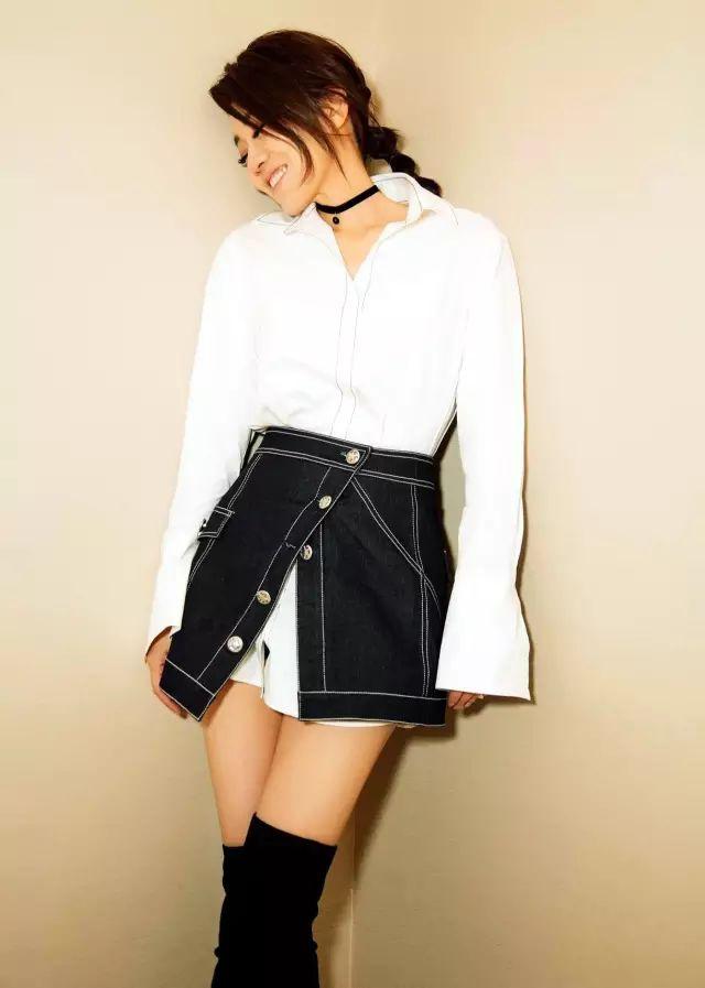 是时候穿衬衫+裙子了,太太太太好看了!!!