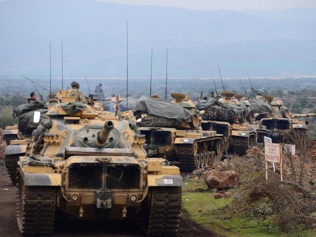 14天拿下大马士革不是空话,土耳其有8个集团军3500辆坦克