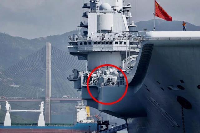 一分钟速射11000发!中国航母的最后防御线,七秒打光弹仓
