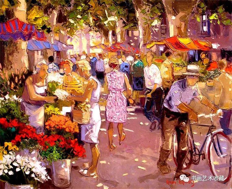 摩洛哥绘画:色彩斑斓的生活