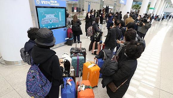 """韩国不满以色列""""过度防疫"""",以方自费包机送400名韩国人回家"""