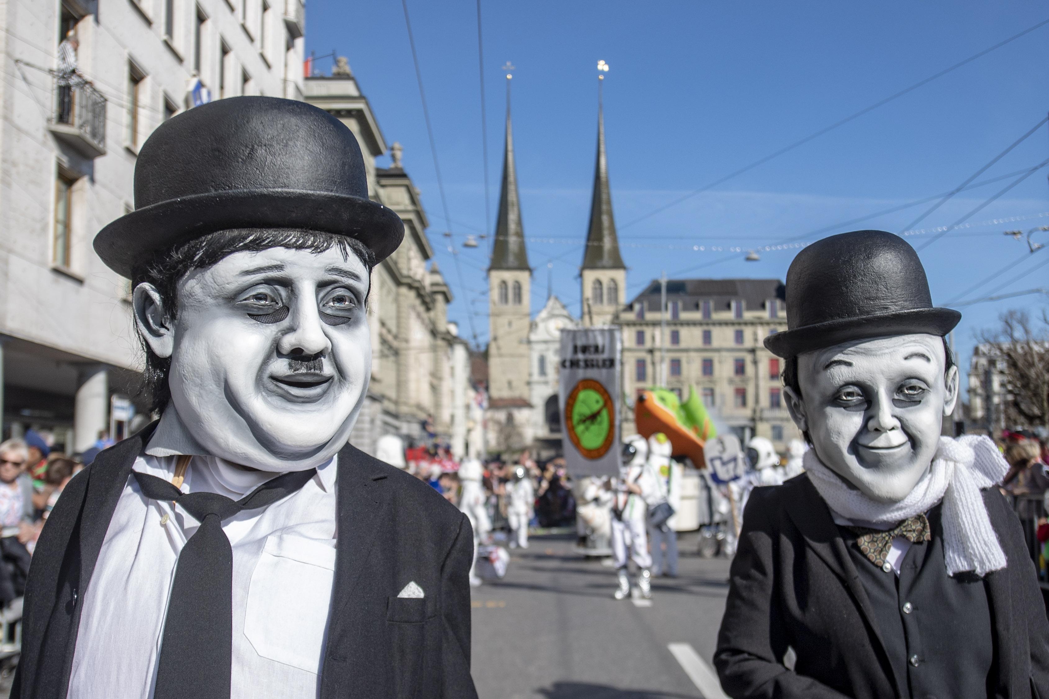 瑞士卢塞恩狂欢节