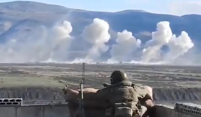 有制空权真的可以为所欲为!俄军3天空袭,炸毁土耳其40多辆战车