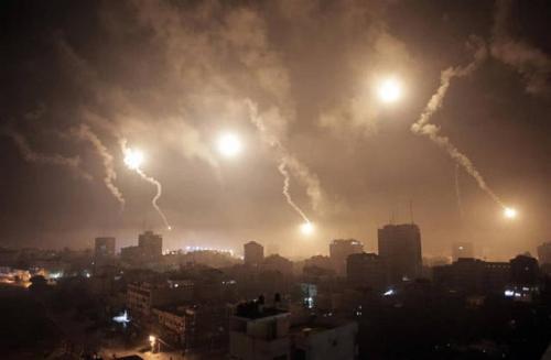 报复行动迅速升级 以色列本土遭导弹袭击 伊朗号召与其战斗到底