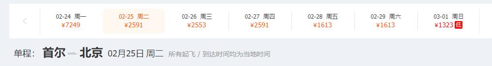 韩国疫情告急!首尔飞青岛机票一天变价23次,从500暴涨到4000