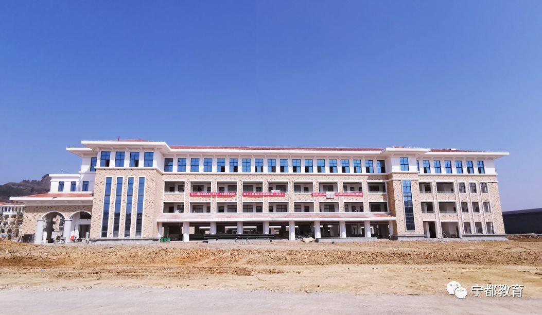 宁都中学新校区已落成,期待您捐树添绿,共建美丽(多图