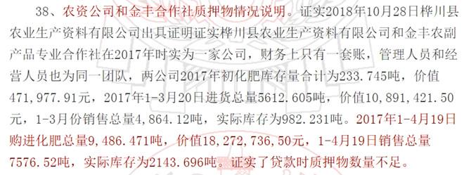 桦川融兴村镇银行原行长违法放贷,2000万吨化肥被充作1.3万吨作抵押