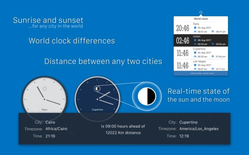 ontime pro 2.10 for mac 多功能桌面时钟效率提升工具图片