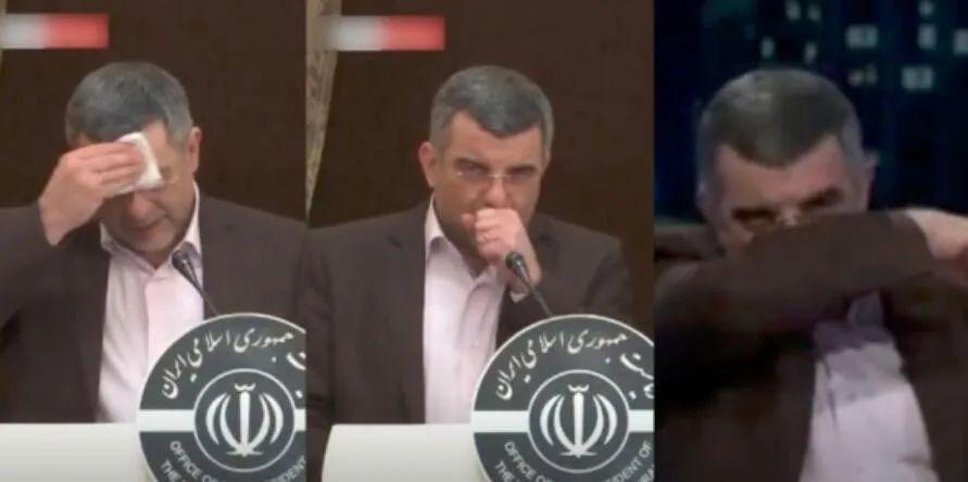 注意视频:伊朗卫生部副部长确诊前一天在电视上已有症状