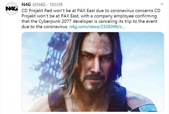 CDPR退出PAX East:没有展示《赛博朋克2077》的计划