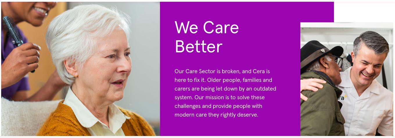 基于AI改善老年护理,英国家庭护理公司「Cera Care」获7000万美元新融资