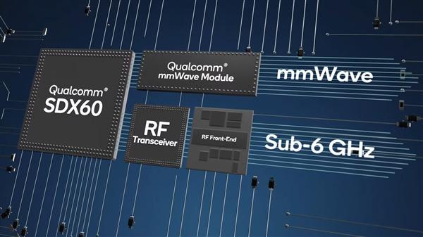 高通展示第三代5G基带芯片X60:5nm制程 明年上市