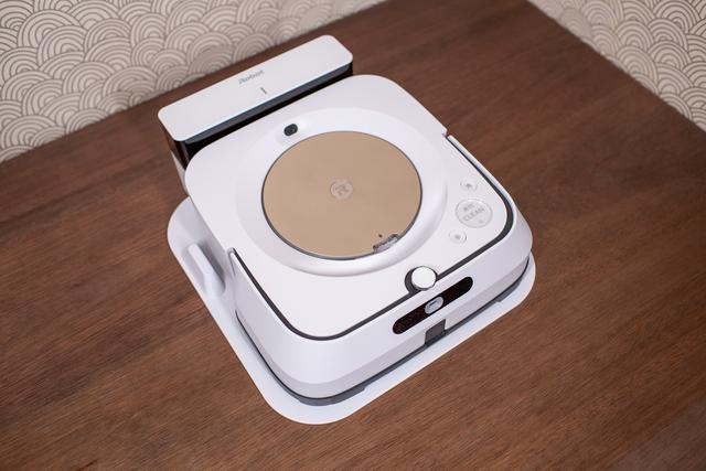 在家扫地可以做什么?iRobot Braava喷气m6洗涤器的使用经验