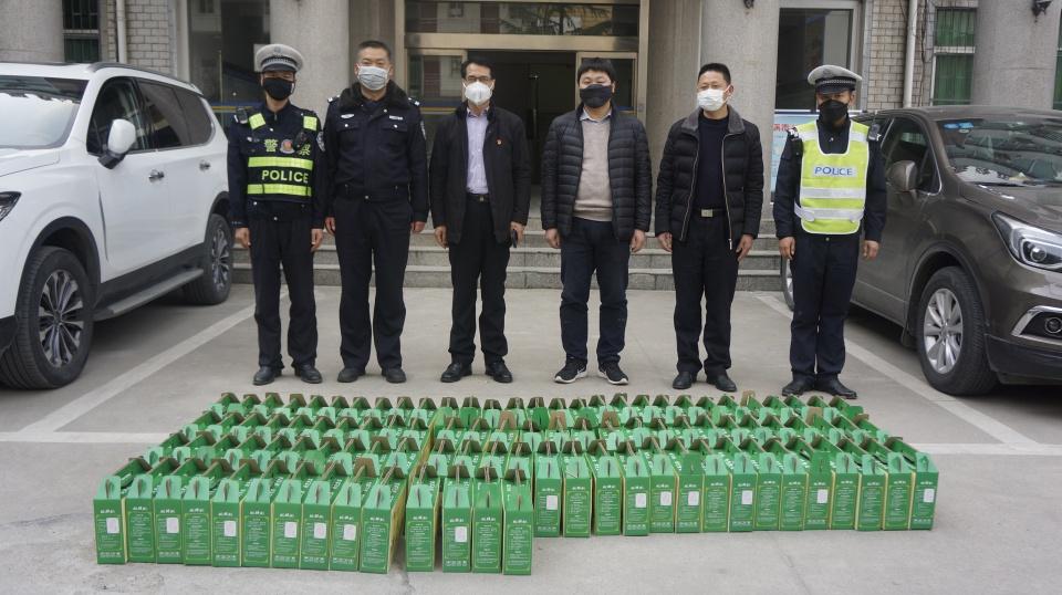 """南阳市捐赠猕猴桃 为防控疫情注入""""维C""""力量"""