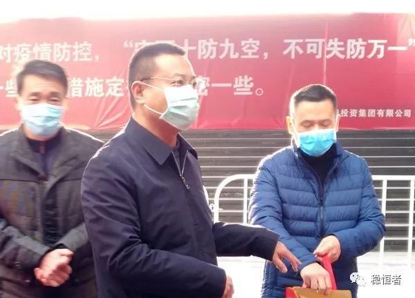 你们辛苦了:蚌埠市民政局刘军波局长前往高铁南站看望志愿者