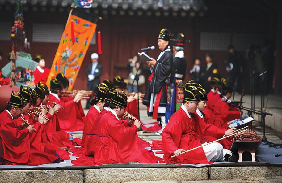 韩国传统音乐有哪些?