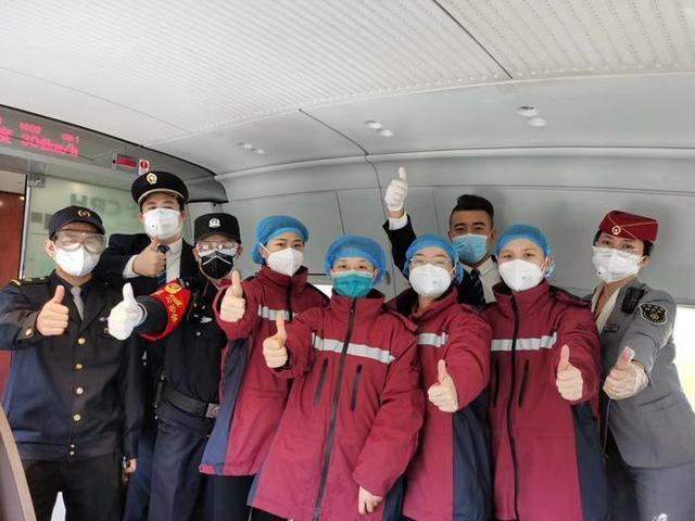 首批来自中国医疗物资抵达纽约武汉给援汉医疗队全员的感谢信