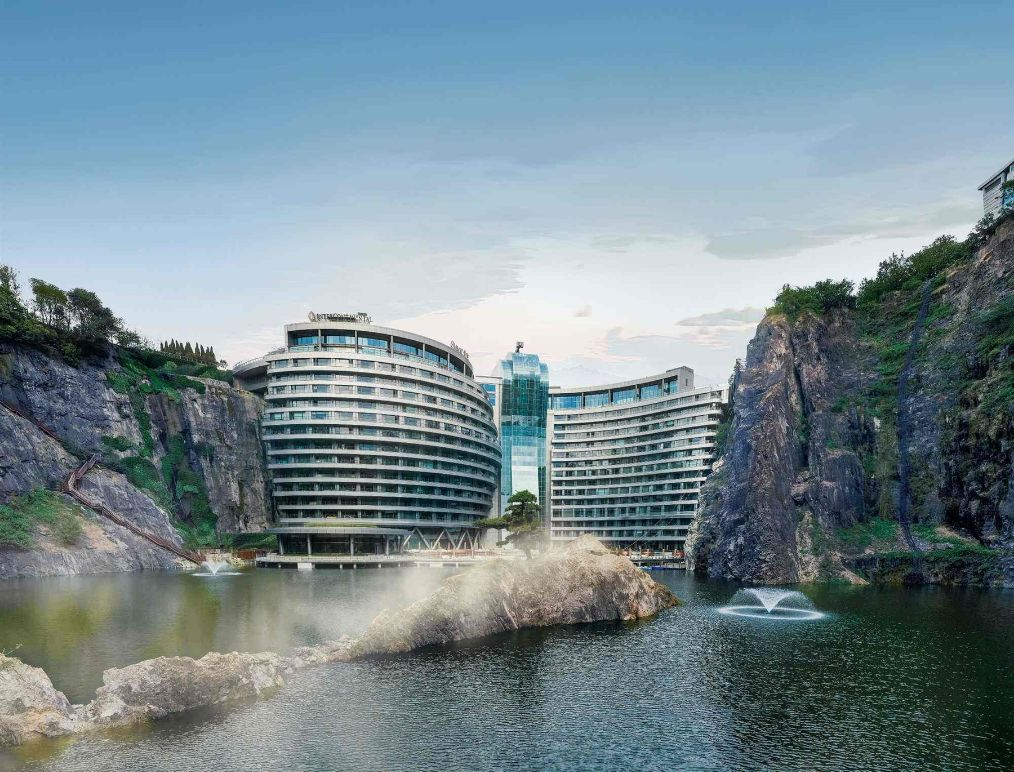 安家深坑国际公寓原型在哪里 上海深坑酒店多少钱一晚可以参观吗