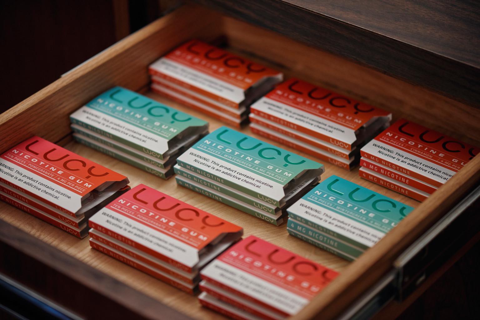 推出尼古丁口香糖,美国创企「Lucy Goods」想成为下一个Juul