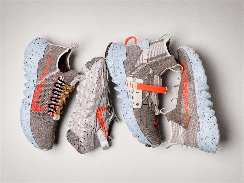 """名牌球鞋再生路:你的Nike鞋可能是塑料瓶""""转世"""""""