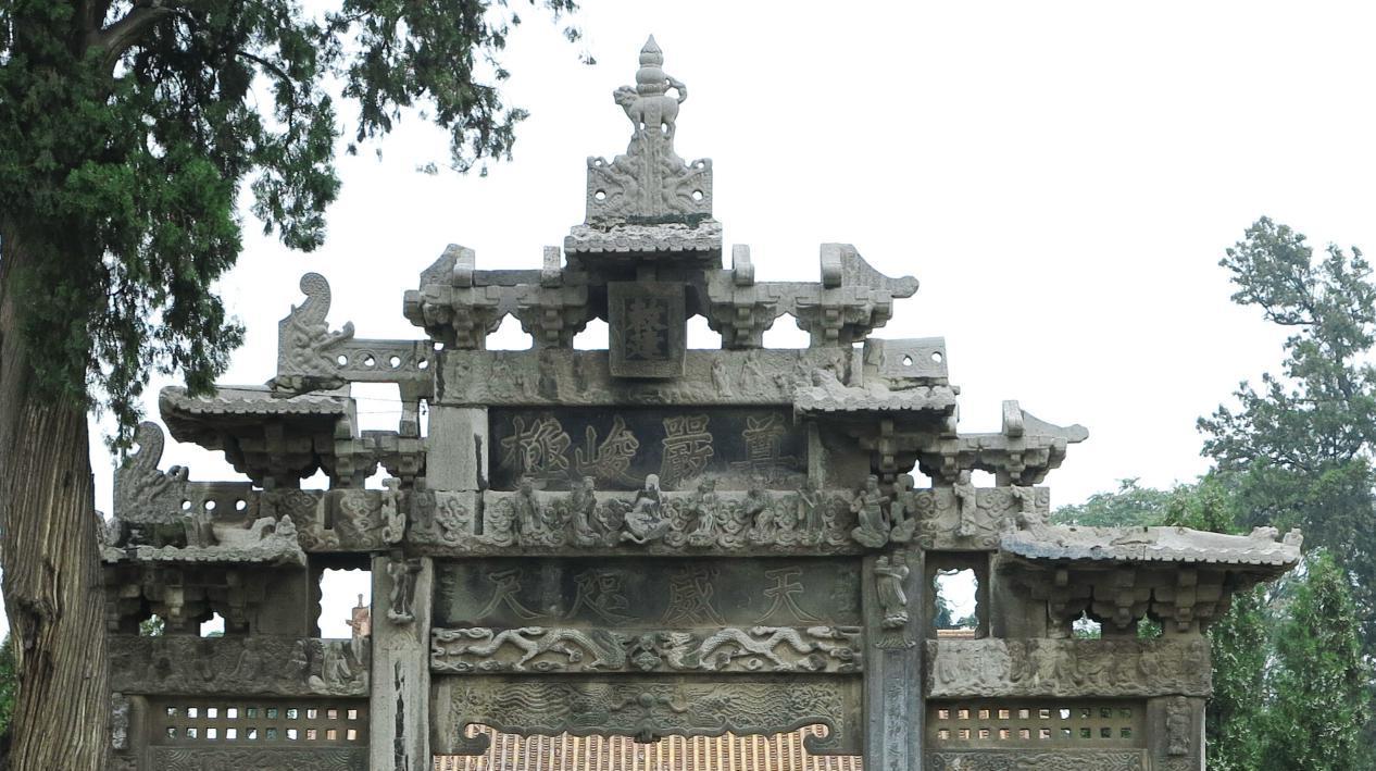 原创             五岳第一庙,被很多华山游客忽略了