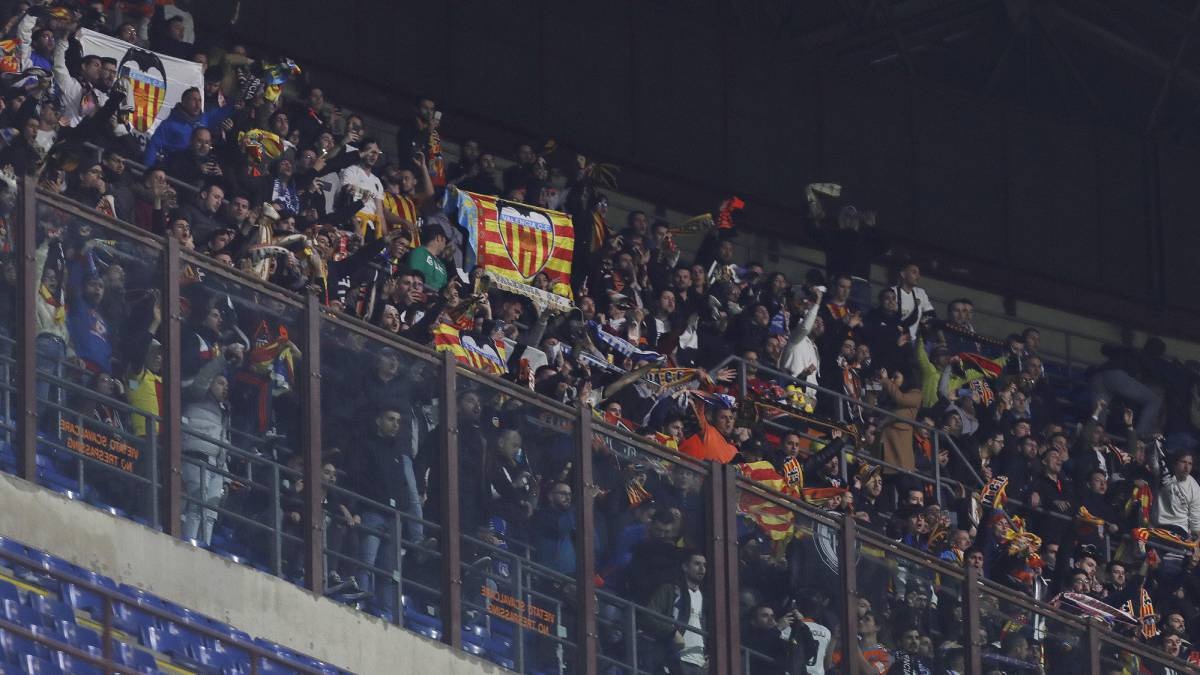 瓦伦西亚一球迷确诊新冠肺炎 曾赴意大利观战欧冠