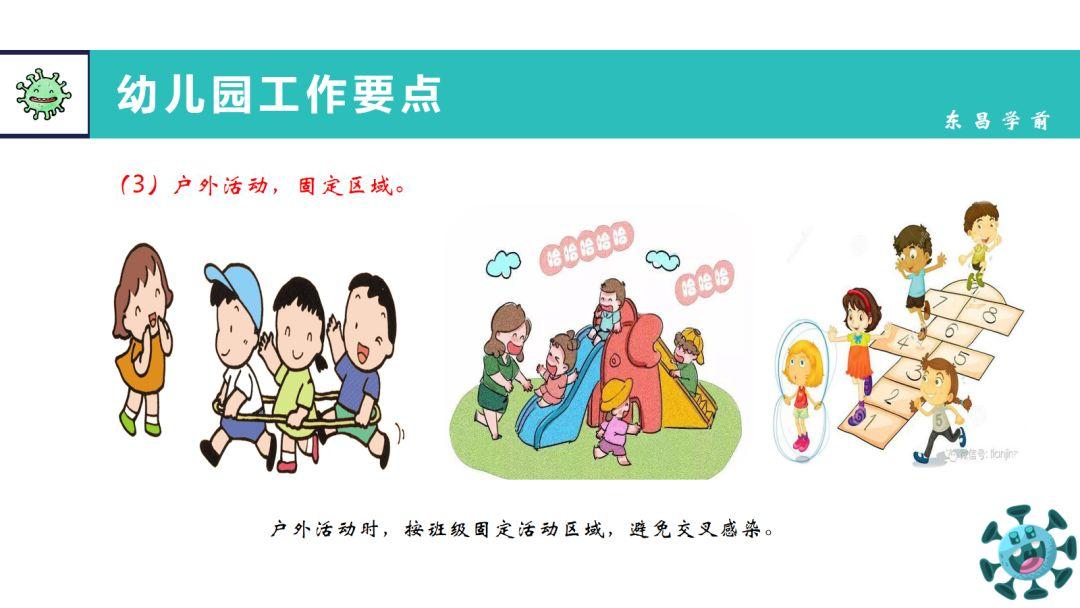 东昌府区幼儿园疫情防控工作指南图片