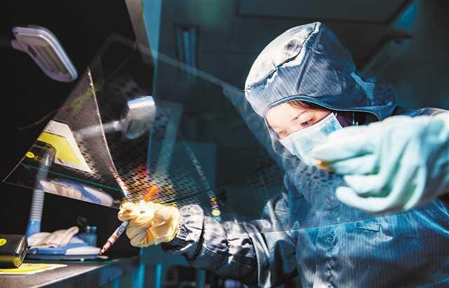 重庆多个工业园区有序推动企业复产 龙头企业带头复工 产业链条速配就位