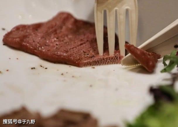 """1公斤210元成本!西班牙推出純素3D打印""""牛扒"""",外觀口感酷似真牛肉"""