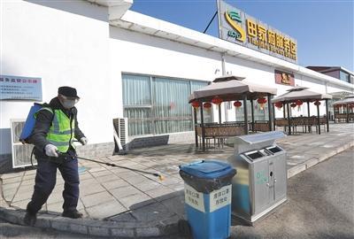 多场所设废弃口罩专用垃圾桶