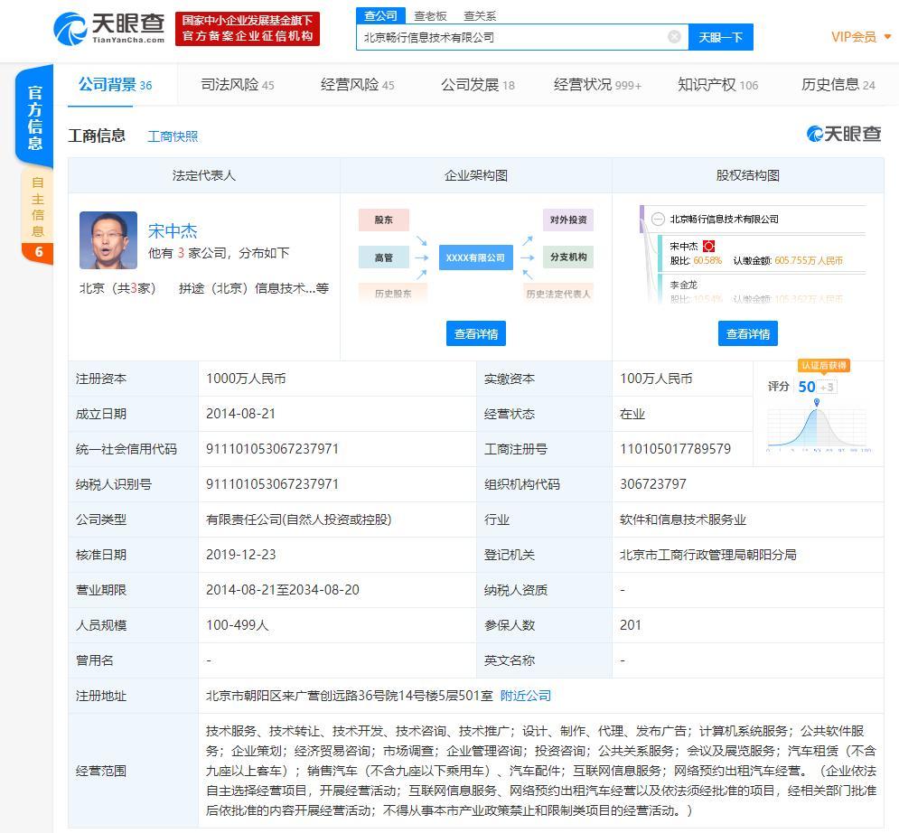 寻求赴美上市的嘀嗒出行被约谈 将暂停进出京跨城相关业务