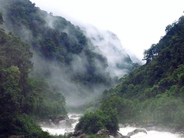 高原孤岛,秘境莲花,墨脱是峡谷深处的遥远和神秘