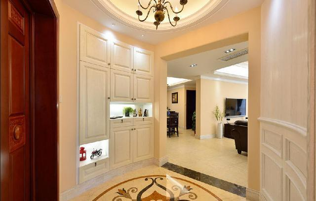 玄关设计最大方,邻居参观狂赞是小区最美装修!