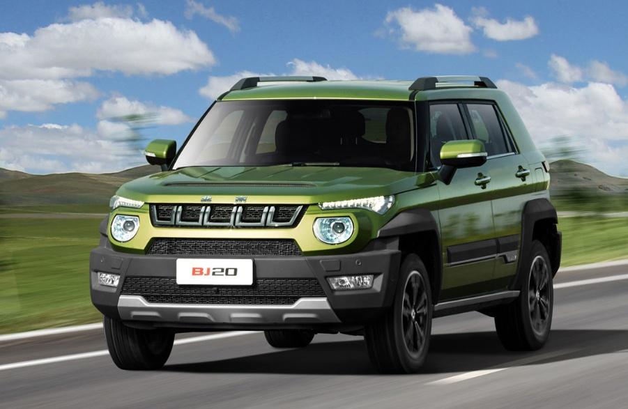 有六种配置可供消费者选择。北京BJ20的油箱容量是60L