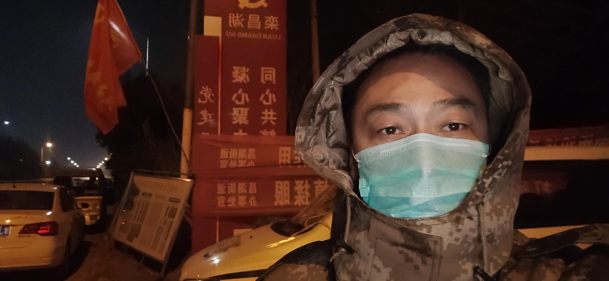 """濮陽工業園區 """"疫""""線:""""我是村支書,我先上!"""""""