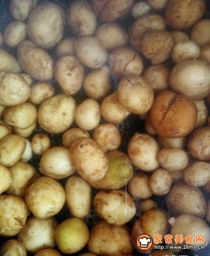 懶人做懶菜之醬小土豆的做法