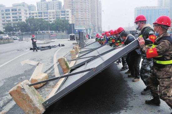 長沙市開福區:街道突擊隊助力企業復工復產