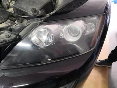 长春车灯马自达CX-7左前照灯改造案例