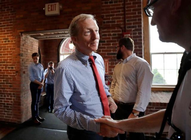 原创 亿万富翁汤姆•斯泰尔退出总统竞选,自掏腰包的10亿广告费打了水漂