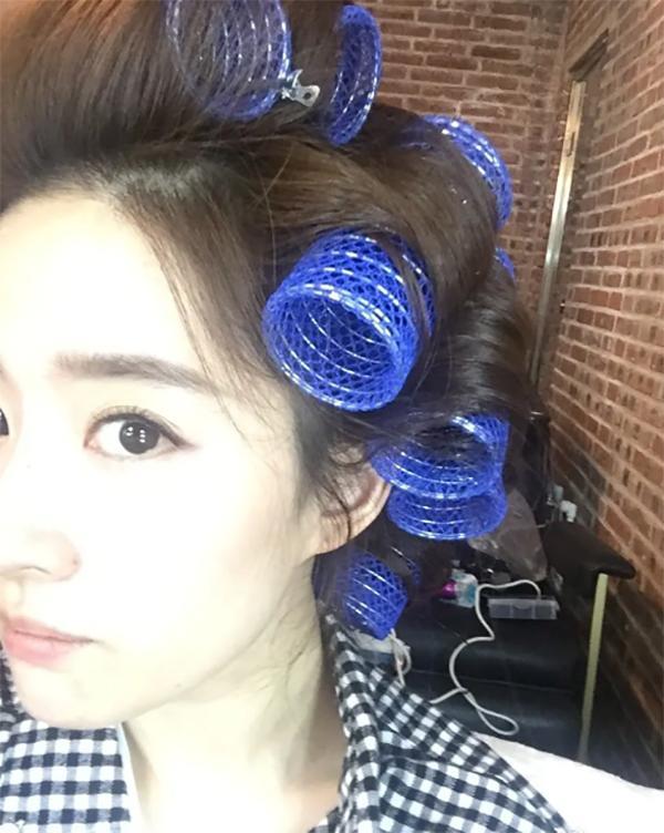 杨幂李沁倪妮娜扎做头发都是仙女下凡,只有我像包租婆