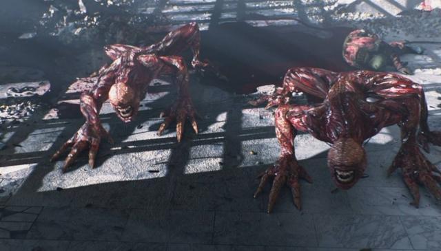 《生化危机》系列舔食者进化史这怪物越来越恐怖了_吉尔
